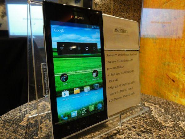 Huawei Ascend P1 llega a España con Vodafone 34