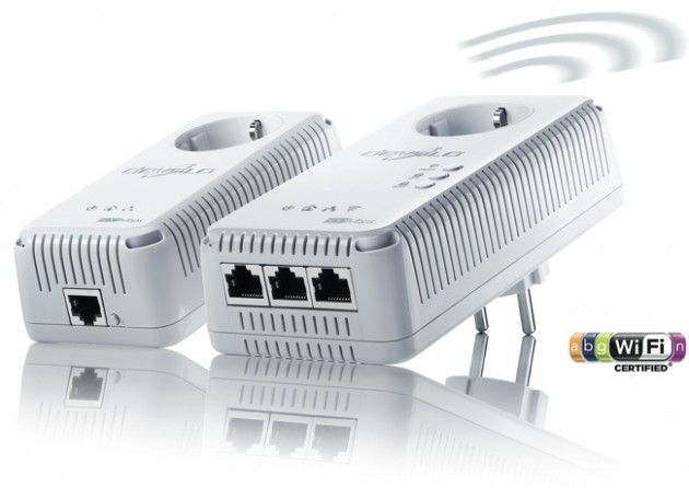 Devolo dLAN 500 AV Wireless +, Wi-Fi and PLC ethernet