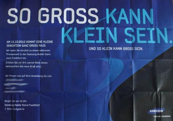 Distribuidores europeos listan el Galaxy S III Mini 32