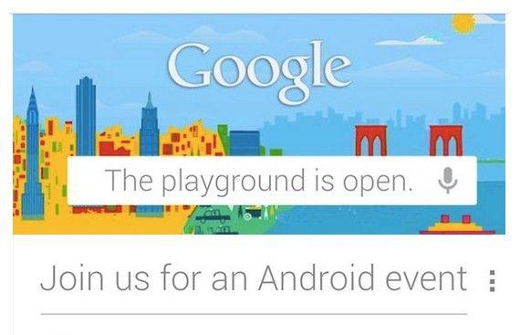 Google Nexus delayed presentation 4, Nexus 10 and Android 4.2