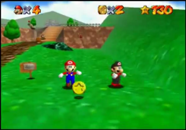 how to play super mario 64 star road