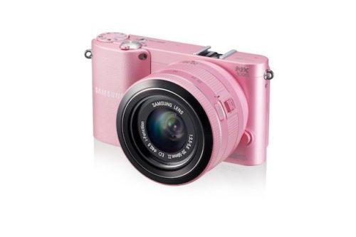NX1000 004 Right Angle pink 500x333 Samsung NX1000, 20 megapixeles en una mirrorless para todo el público