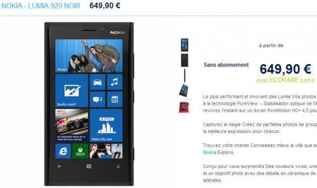 PhoneHouse reserva el Nokia Lumia 920 por 650 euros 30