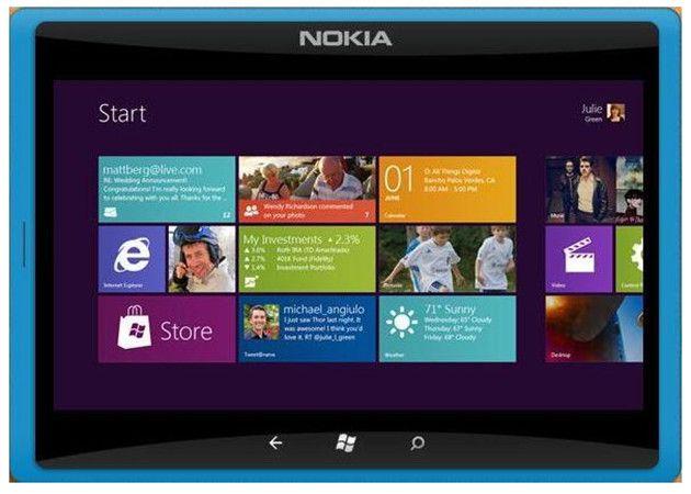 Una patente apunta al tablet Nokia con Windows 8