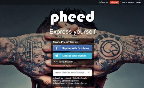 Pheed, ¿alternativa a Twitter? 36