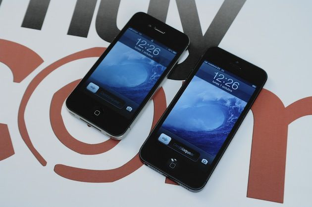 Comparativa física iPhone 5 vs iPhone 4S 29