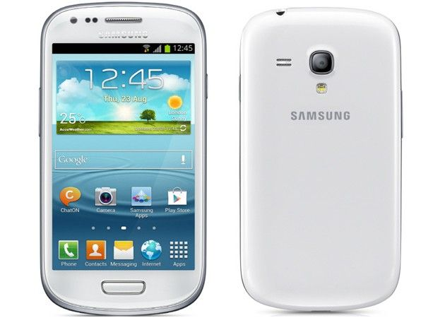 Samsung presenta oficialmente el Galaxy S Mini III 30