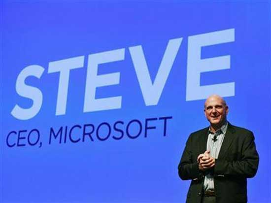 CEO de Microsoft: 'Devices, Devices, Devices'