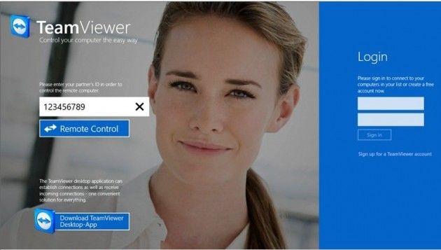 TeamViewer, ya disponible para Windows 8 29