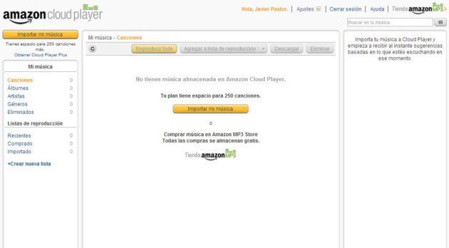 Amazon Cloud Player y la tienda de música de Amazon desembarcan en España