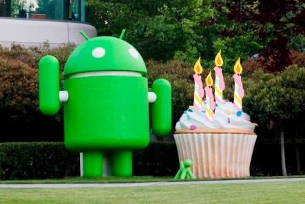android 4a Android cumple 4 añitos