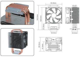Nuevos disipadores de CPU Coolermaster Blizzard T2 y Hyper T4 30