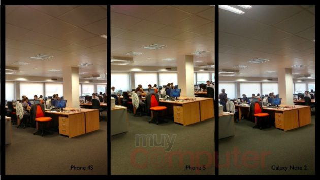 Calidad fotográfica iPhone 5, prueba frente iPhone 4S y Galaxy Note 2 32