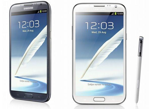 Samsung libera el código de los Galaxy Note II 30