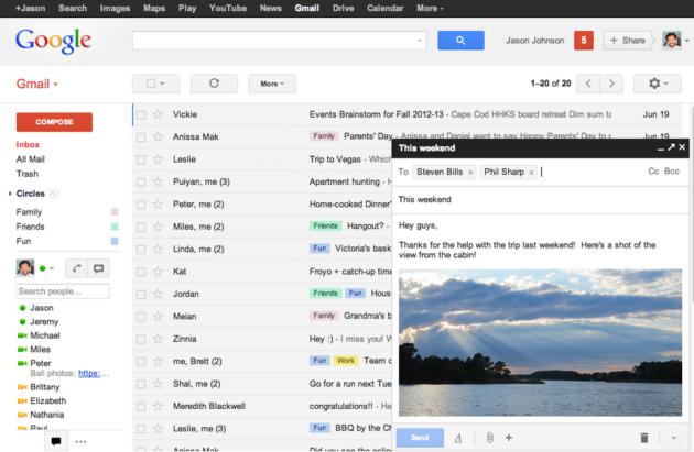 Gmail rediseña su redactor de mensajes 31