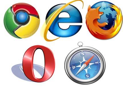 Chrome baja en cuota, Internet Explorer sube 33