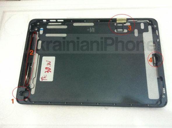 iPad Mini, nuevas fotos de su carcasa 29