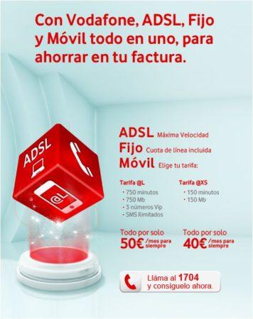 Vodafone contraataca frente a Movistar Fusión, nuevas tarifas universales 31