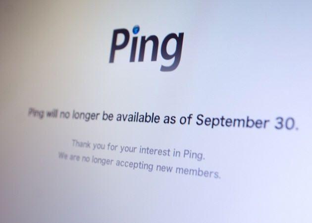 Apple echa el cierre definitivo en Ping 37