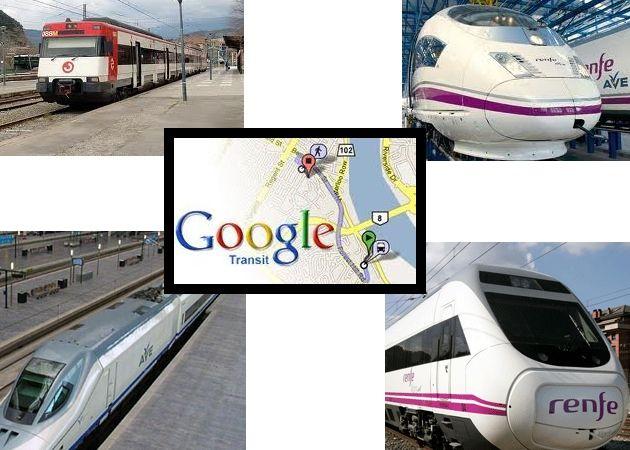 Renfe se sube al carro de Google Transit en España 28