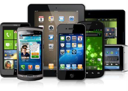 ¿Para qué se usan principalmente smartphones y tablets? 28