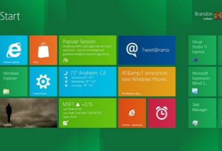 windows8 metro Windows 8 novedades, precio y servicios adicionales