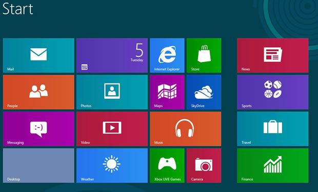Lista completa de atajos de teclado para Windows 8 32