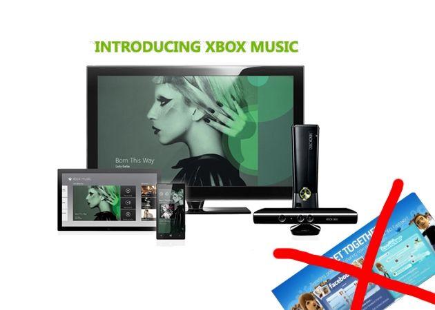Microsoft elimina Twitter y Facebook en Xbox 360 con la llegada de Xbox Music 34