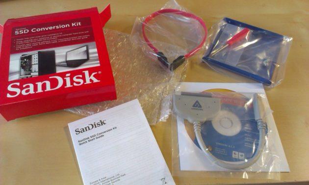 Actualiza tu disco duro a SSD con SanDisk SSD Conversion Kit