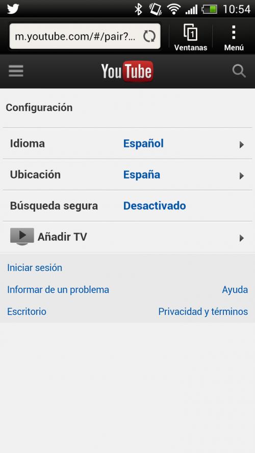 Nueva interfaz de YouTube enfocada a TVs 35