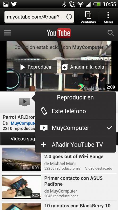 Nueva interfaz de YouTube enfocada a TVs 37