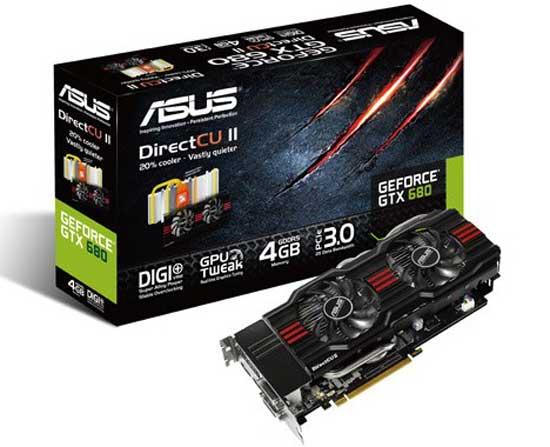 Nueva gráfica ASUS GeForce GTX 680 30