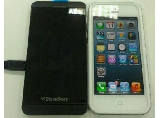 BlackBerry 10 L frente a iPhone 5 30
