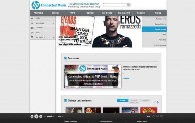 HP Connected Music, streaming de Universal Music y mucho más 33