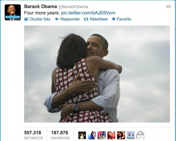 Captura de pantalla 2012 11 07 a las 11.27.06 562x450 Four more years, el tweet con más retweets de la historia