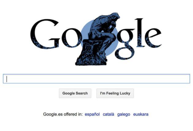 Doodle que homenajea a Rodin en su 172 aniversario 32