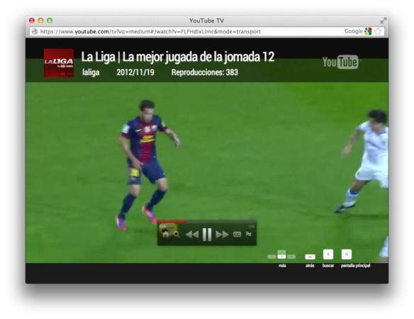 Nueva interfaz de YouTube enfocada a TVs 38