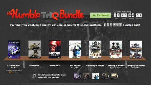 The Humble THQ Bundle, juegos tope de gama al precio que quieras 31