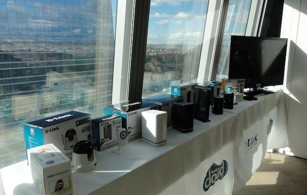 D-Link presenta en Madrid toda su línea mydlink Cloud Services 28