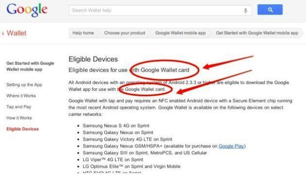 Google Wallet 630x360 Google prepara su propia tarjeta de crédito, la Wallet Card