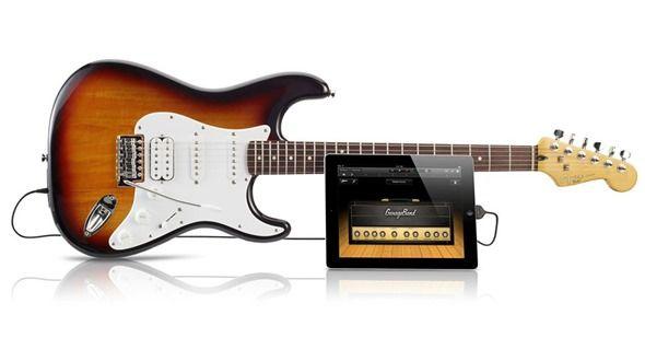 Guitarra para iOS y OS X Squier by Fender USB Stratocaster 28