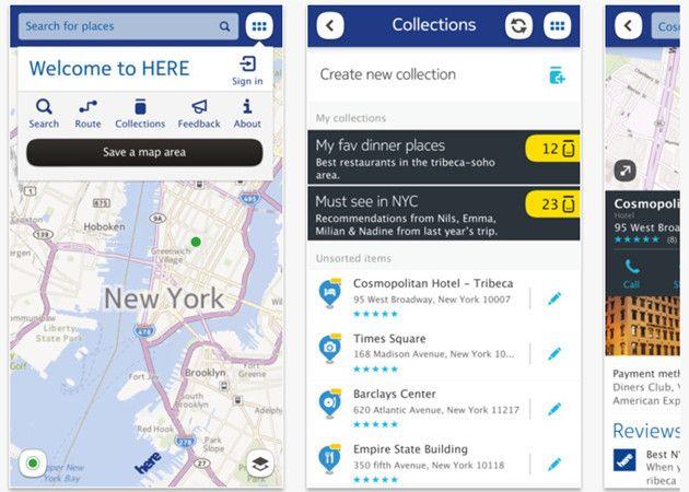 Nokia Here iOS6, alguien tiene que hacerle los mapas a Apple 29