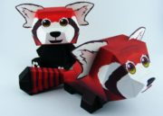 Domingo de manualidades: hazte un muñequito de Firefox 35