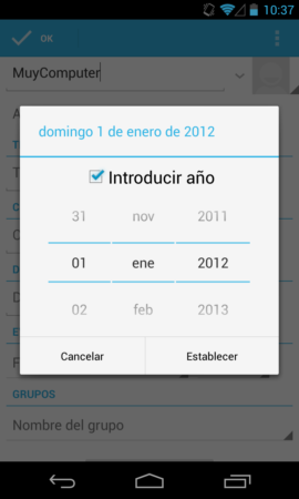 A Android 4.2, Jelly Bean, no le gustan los nacidos en diciembre 32