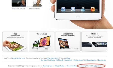 Apple deberá rectificar el mensaje de disculpa pública a Samsung 32