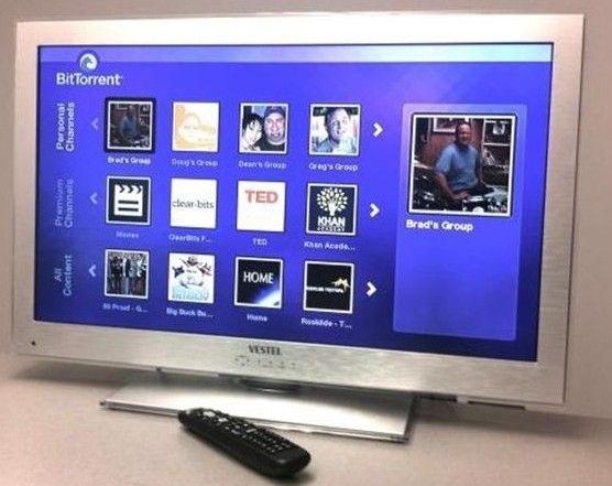 Veinte fabricantes de Smart TV incluirán BitTorrent