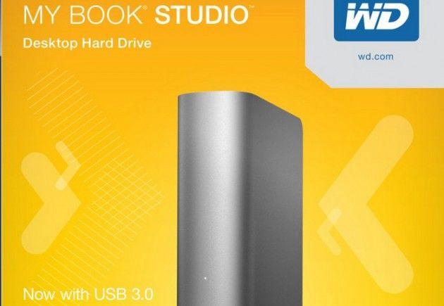 Western Digital mejora los My Book Studio con USB 3.0 y 4 TB