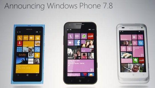Windows Phone 7.8 podría llegar este miércoles 31