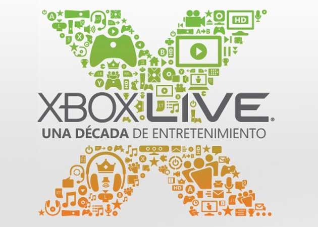 Décimo aniversario de Xbox Live