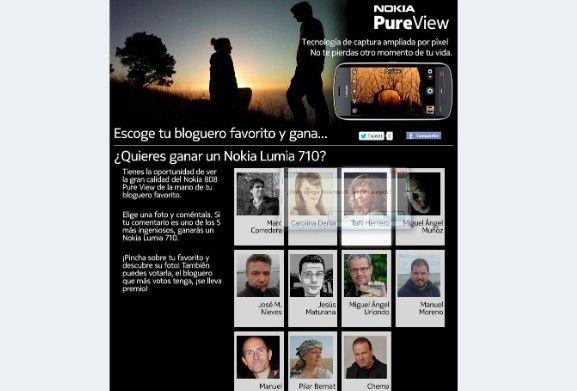 Concurso otoño con Nokia PureView 27